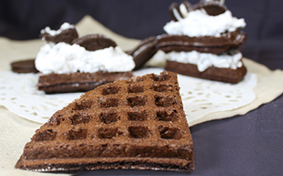 3 Creative products made using Brownie waffle mix