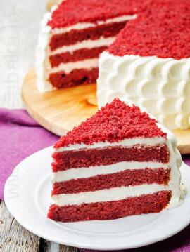 RED VELVET CAKE MIX - VEG