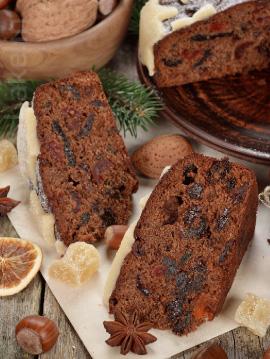 SPICY PLUM CAKE MIX - VEG